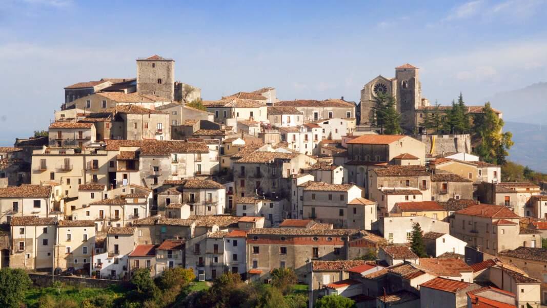 Village dans le Parc du Pollino