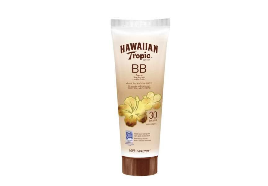 La BB Crème visage et corps SPF 30 Hawaiian Tropic
