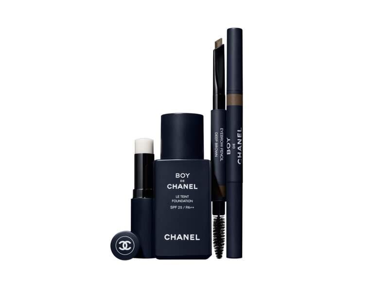 Collection Maquillage Boy Chanel, prix indicatif de la collection complète : 143 €