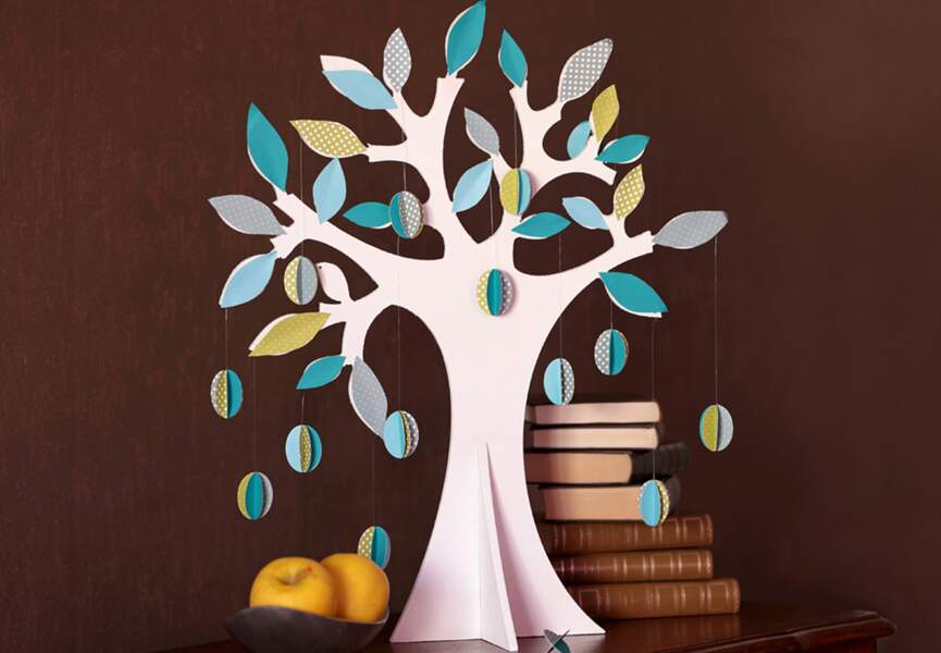 DIY : un arbre coloré