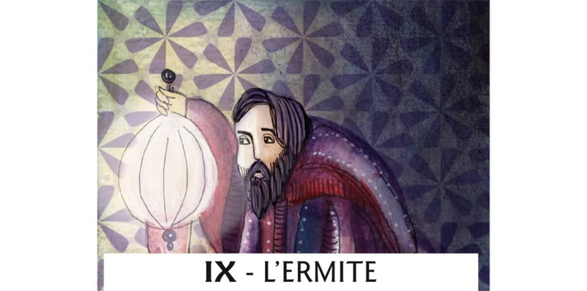 Tarot de Marseille : l'Ermite