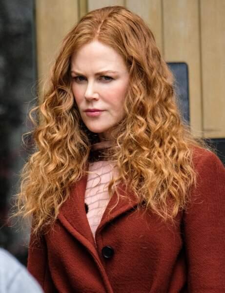 Le roux aux pointes blondes de Nicole Kidman