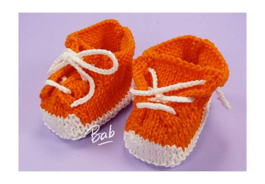 """Des chaussons """"baskets"""""""