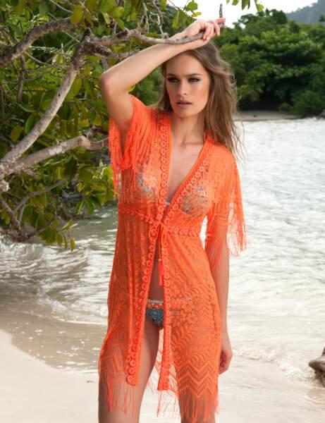 Robe de plage à nouer