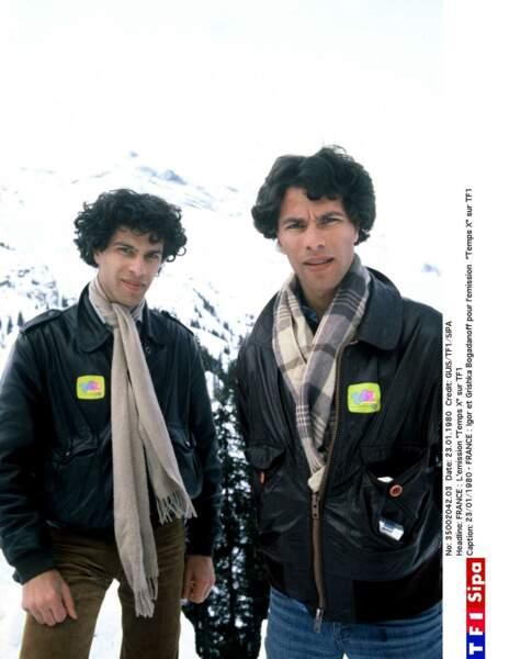 Igor et Grichka Bogdanoff : 1980