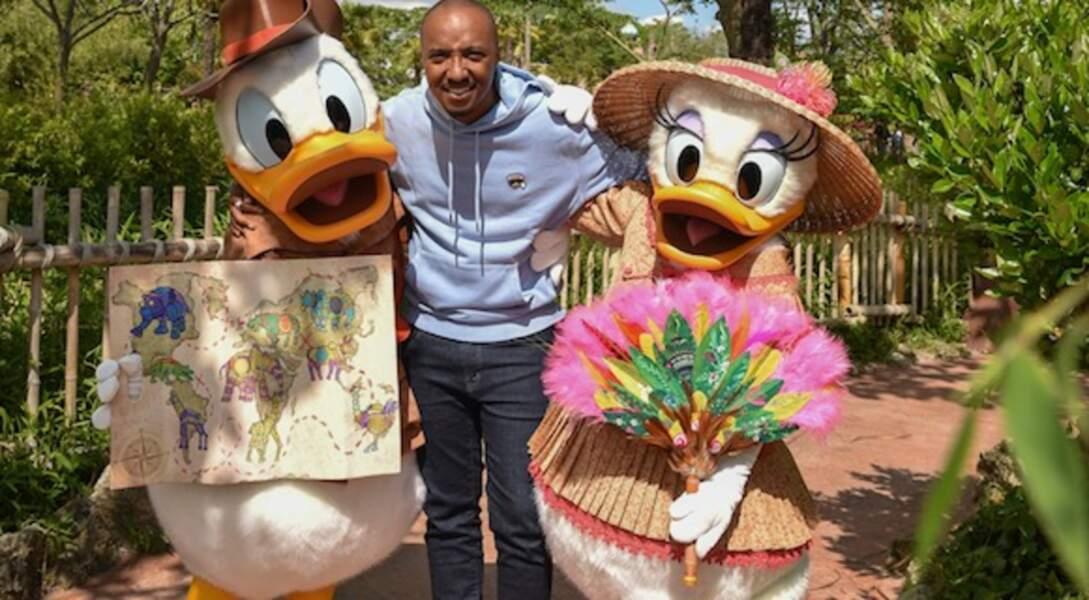 Soprano fait honneur à la sortie du nouveau film Le Roi Lion à Disneyland Paris