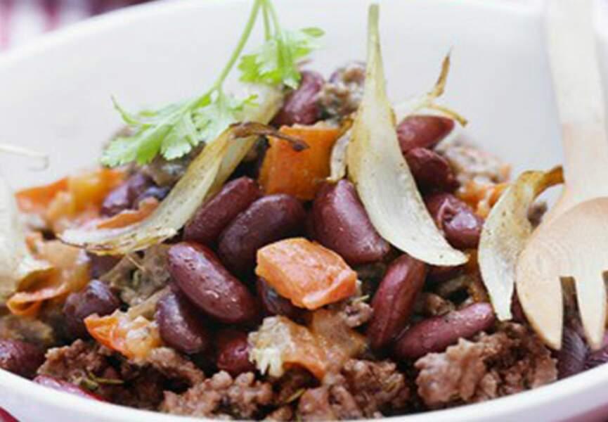 Chili con carne diététique