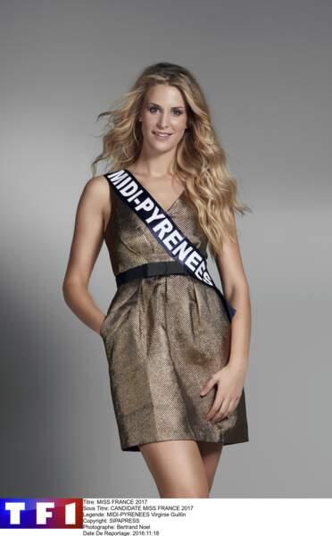 Miss Midi-Pyrénées - Virginie Guillin