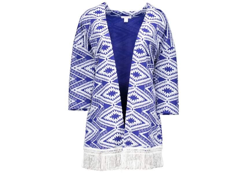 Tendance kimono: franges