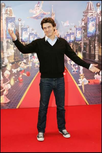 Marc Lavoine à la fête d'anniversaire des 15 ans d'Eurodisney le 31 mars 2007.