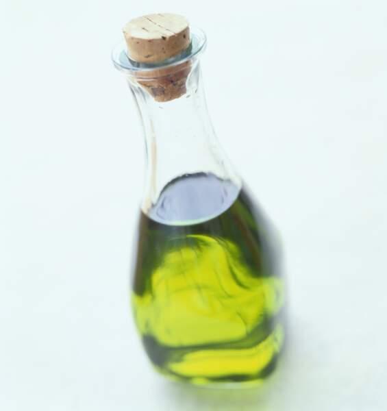 L'huile d'olive est la moins grasse des huiles
