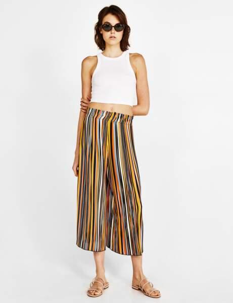 Pantalon : jupe-culotte