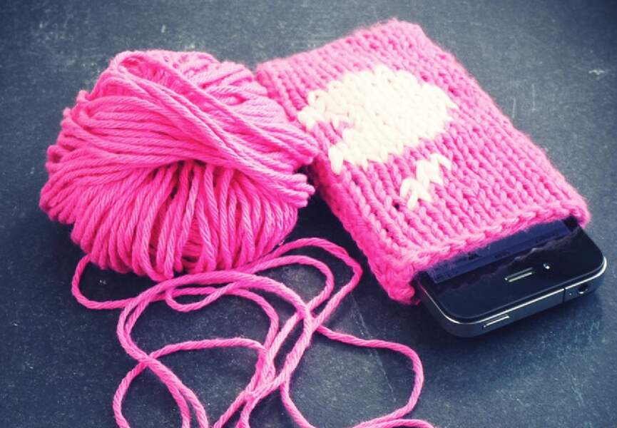 Une housse girly pour mon Iphone