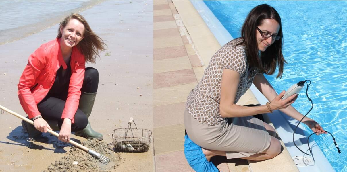 Valérie, 34 ans, Vanessa, 40 ans, ingénieur d'études sanitaires*