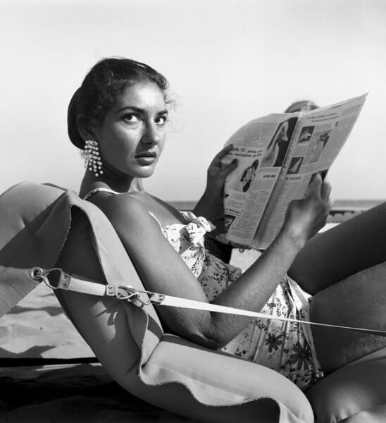 Maria Callas en 1950