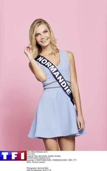 Miss Normandie, Anaelle Chretien