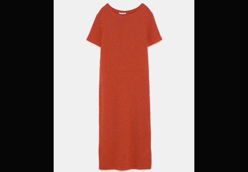Nouveautés Zara: la robe en maille