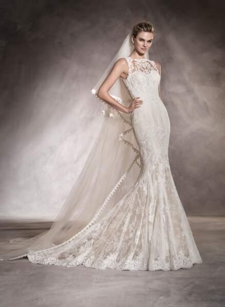 Robe de mariée Pronovias : Aura