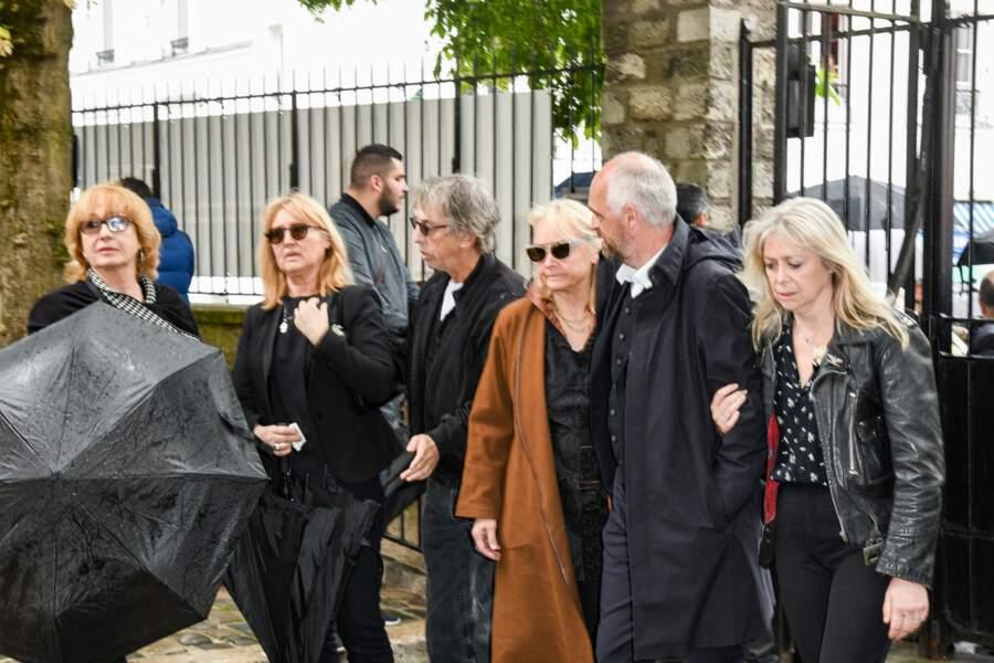 Babette, sa femme et Pascal le fils de Dick Rivers et Micheline Davis, Natala, la fille de Dick Rivers