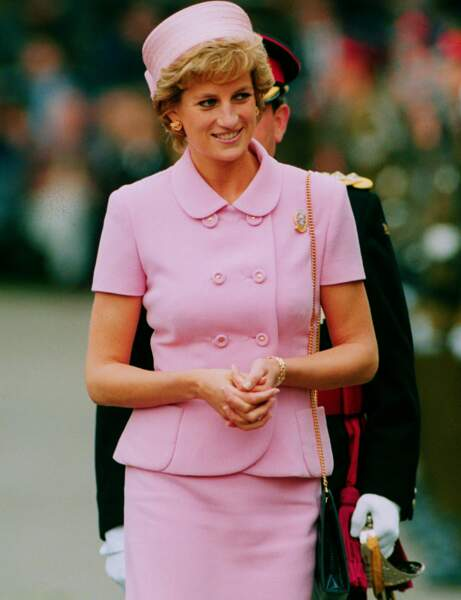 Le style Lady Di : pink lady