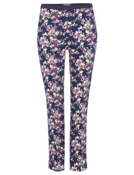 Flower power : le pantalon droit