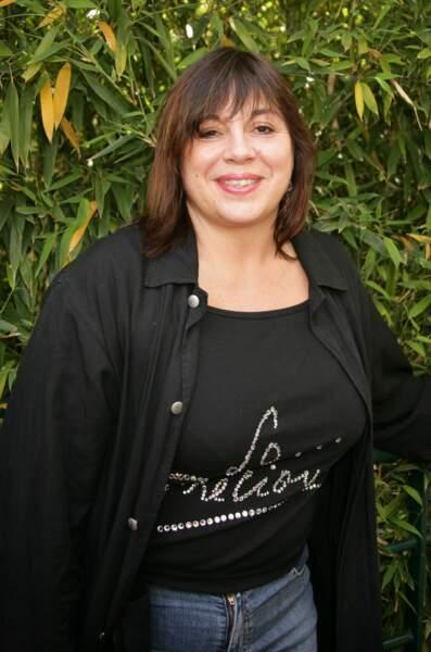 Michèle Bernier à Roland Garros en 2005.