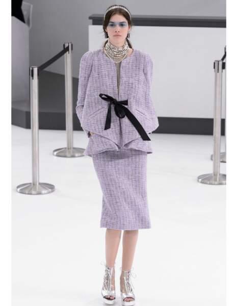 Défilé Chanel prêt-à-porter printemps-été 2016.