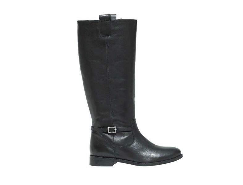 Pour un look classique : bottes cavalières Etam