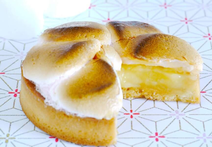 La tarte au citron et guimauve