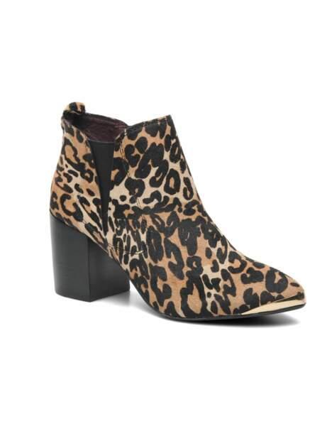 Les boots total léopard