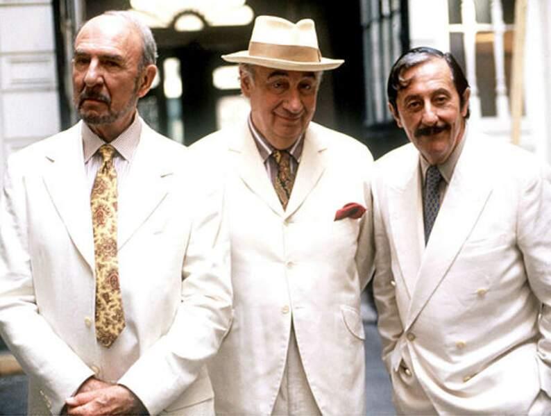 Avec Noiret et Rochefort dans Les Grands Ducs, de Patrice Leconte