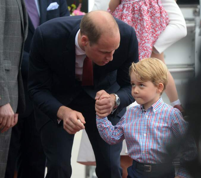 William et George