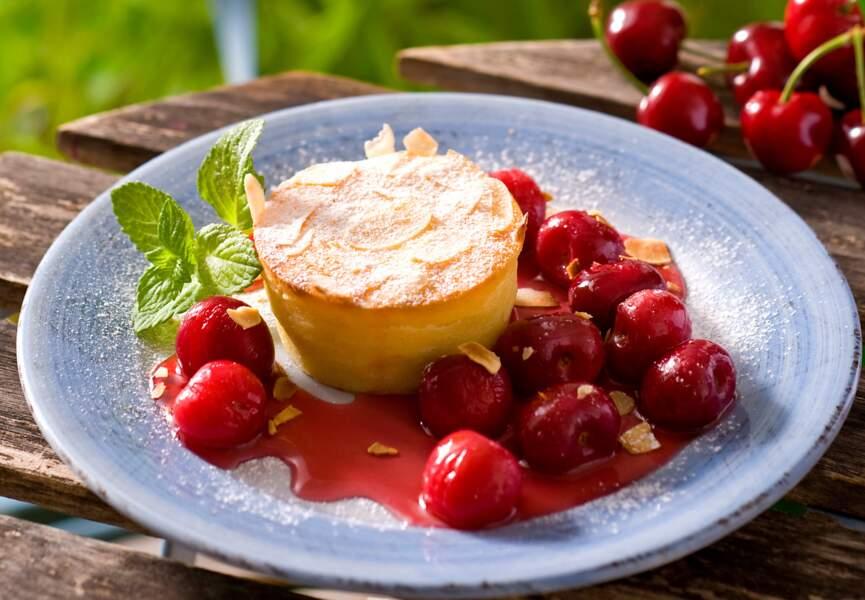 Cheese-cake aux cerises