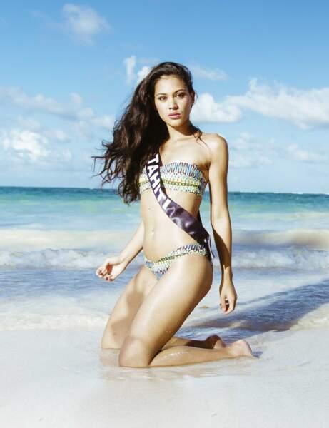 Miss Tahiti, première dauphine