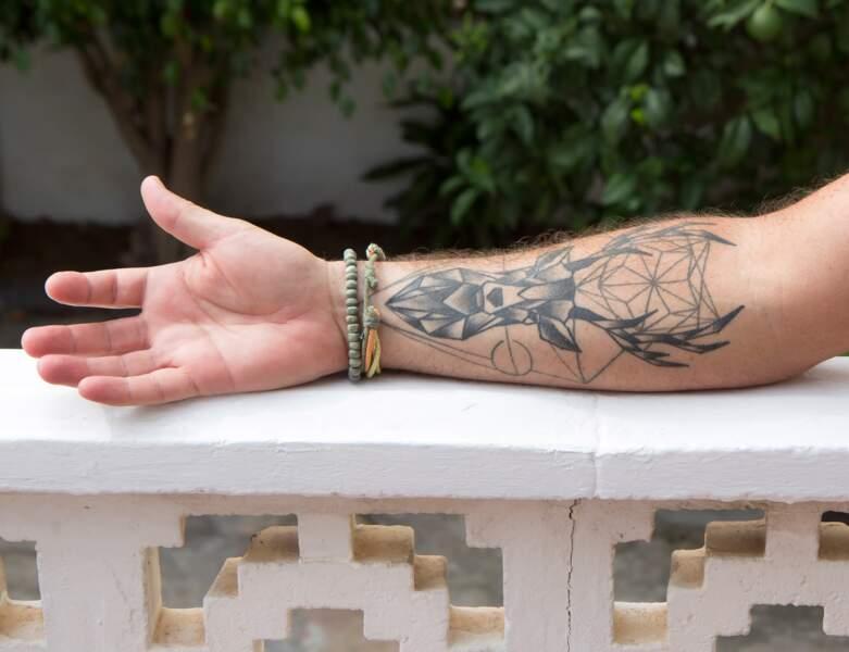 Le tatouage cerf