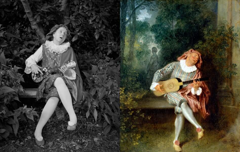 Mezzetin, de Jean-Antoine Watteau