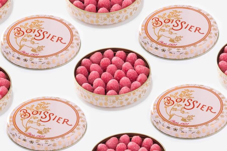 Bonbons à la fraise des bois