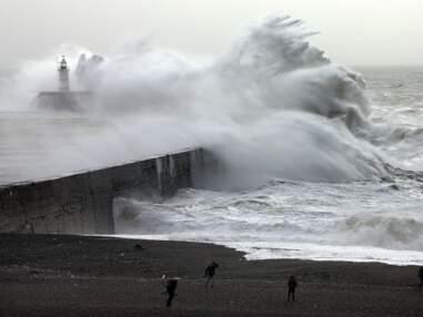 Les plus belles images de la tempête