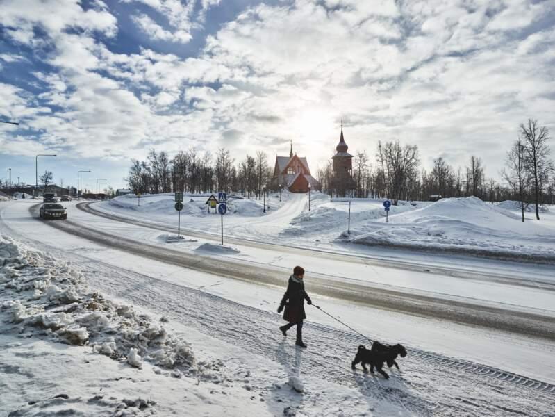 Kiruna -  Laponie suédoise