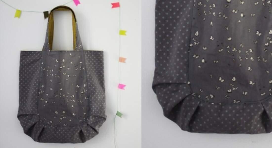 DIY : un sac plissé
