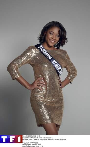 Miss Saint-Martin - Saint-Barthélemy - Anaëlle Hyppolite