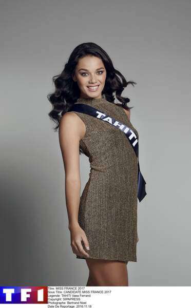 Miss Tahiti - Vaea Ferrand
