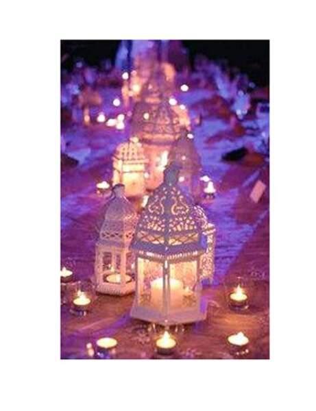 Des lanternes pour un mariage romantique