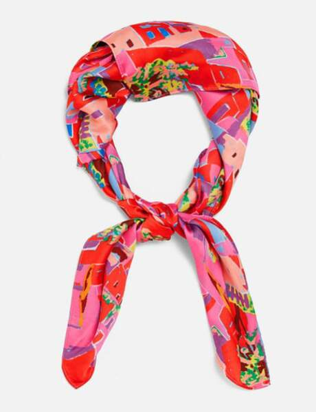 Zara: le foulard imprimé