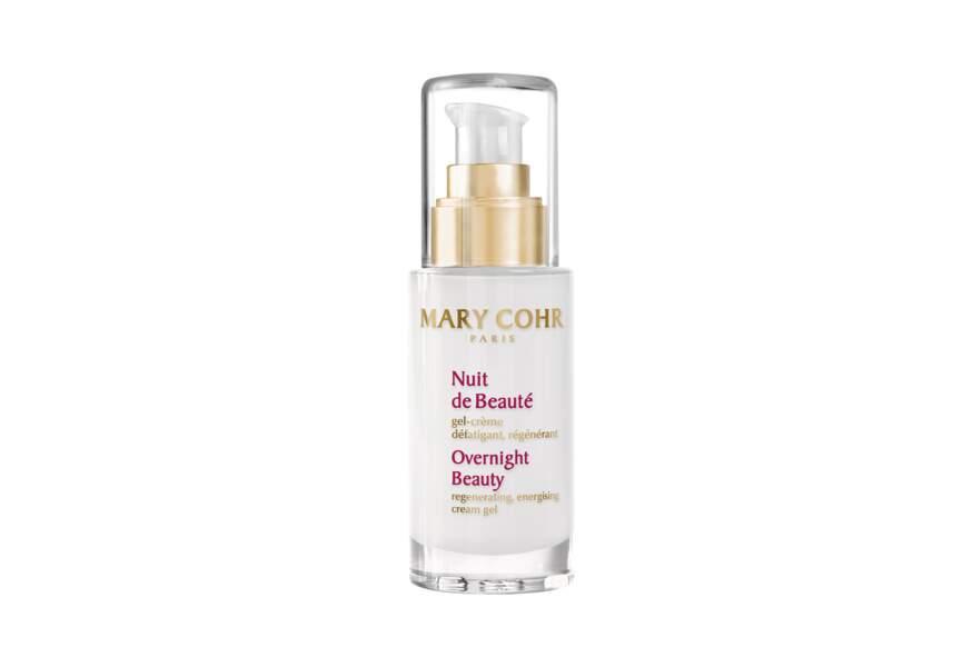 Le gel-crème défatigant régénérant Nuit de Beauté Mary Cohr