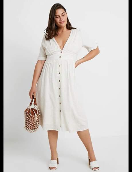 Tenue de cérémonie : la petite robe blanche