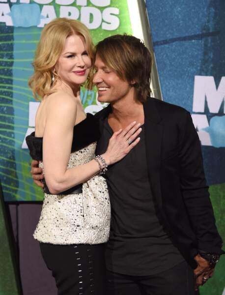 Nicole Kidman et Keith Urban assistent à la cérémonie des CMT Music Awards le 10 juin 2015.