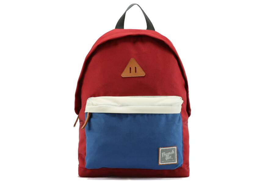 Bleu blanc rouge : le sac-à-dos cool