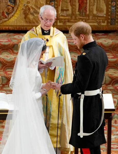 Mariage du prince Harry et de Meghan Markle à la chapelle Saint-Georges à Windsor, le 19 mai 2018