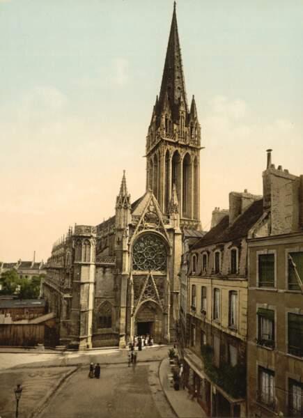 L'église Saint-Pierre de Caen, avant les ravages de la guerre